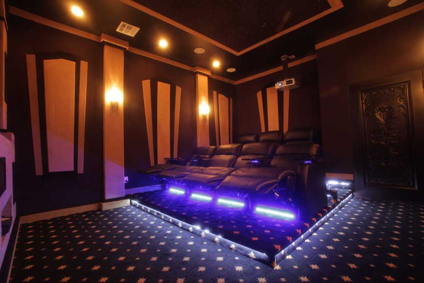 home theater building