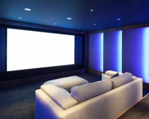 Our Home Theater Rooms Include